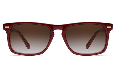 Morgenthal Frederics - Newman Sun Sunglasses Red Amber
