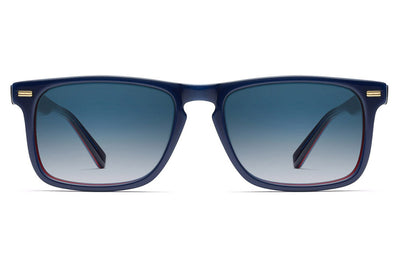 Morgenthal Frederics - Newman Sun Sunglasses Blue Navy