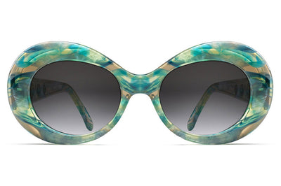 Morgenthal Frederics - Gert Sunglasses Teal Iridescent