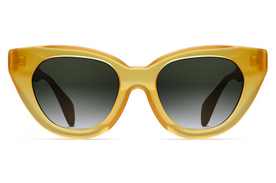 Oscar de La Renta x Morgenthal Frederics - Holly Sunglasses Butterscotch