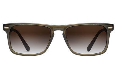 Morgenthal Frederics - Newman Sun Sunglasses Olive Crystal