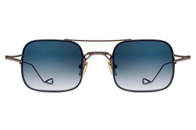 Morgenthal Frederics - Stern Sunglasses Copper Blue