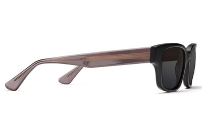 Morgenthal Frederics - Ralph Sunglasses Black Matte/Smoke Crystal