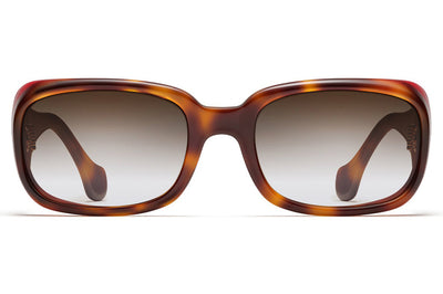 Morgenthal Frederics - Elektra Sunglasses Traditional Tortoise / Red