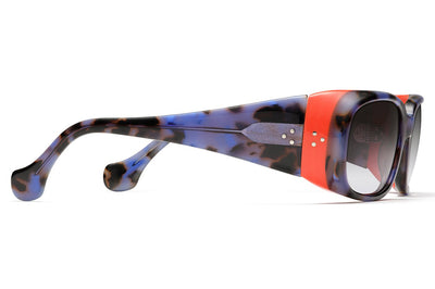 Morgenthal Frederics - Elektra Sunglasses Blue Tortoise/Orange