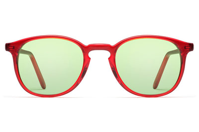 Morgenthal Frederics - ChromoClear Ben Sunglasses Red Crystal