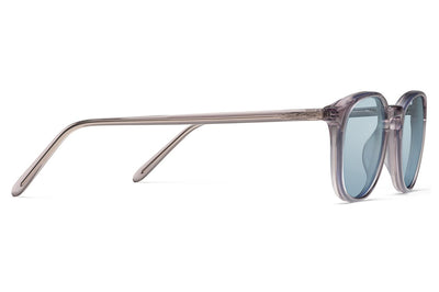 Morgenthal Frederics - ChromoClear Ben Sunglasses Smoke Crystal