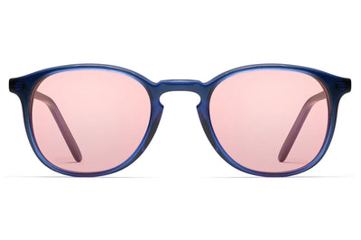 Morgenthal Frederics - ChromoClear Ben Sunglasses Blue Crystal