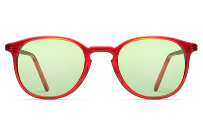Morgenthal Frederics - ChromoClear Benny Sunglasses Red Crystal