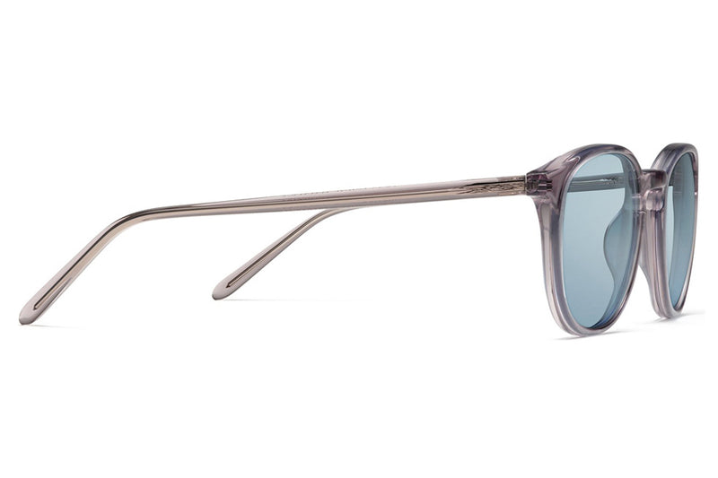 Morgenthal Frederics - ChromoClear Benny Sunglasses Smoke Crystal