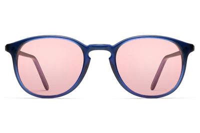 Morgenthal Frederics - ChromoClear Benny Sunglasses Blue Crystal