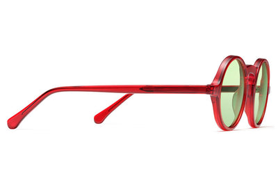 Morgenthal Frederics - ChromoClear Oberlin Sunglasses Red Crystal
