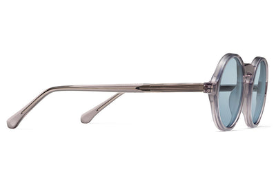 Morgenthal Frederics - ChromoClear Oberlin Sunglasses Smoke Crystal
