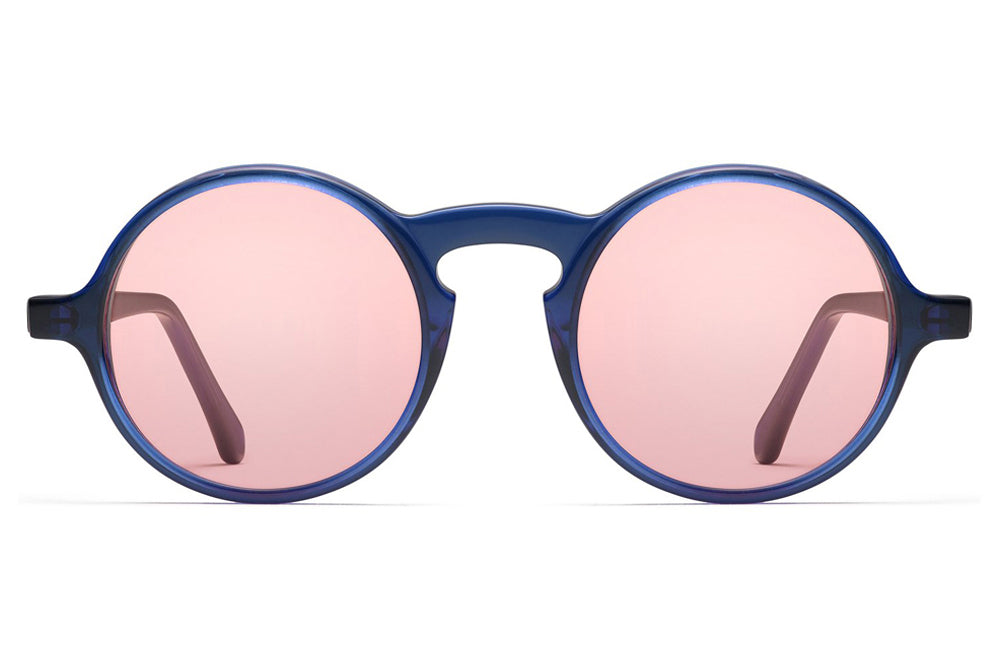 Morgenthal Frederics - ChromoClear Oberlin Sunglasses Blue Crystal