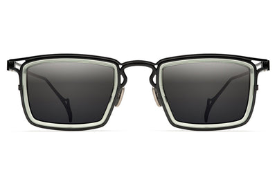 Morgenthal Frederics - The Ninety-Two Sunglasses Black/Green Crystal