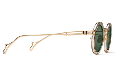Morgenthal Frederics - The Ninety-One Sunglasses Gold/Smoke Crystal