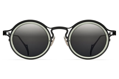 Morgenthal Frederics - The Ninety-One Sunglasses Black/Green Crystal