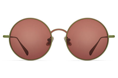 Monse x Morgenthal Frederics - Samantha Sunglasses Moss/Rust