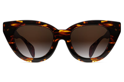Oscar de La Renta x Morgenthal Frederics - Holly Sunglasses Dark Tortoise