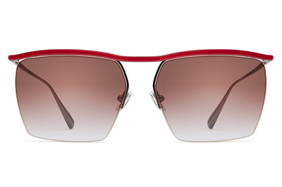 Monse x Morgenthal Frederics - Amber Sunglasses Red/Black