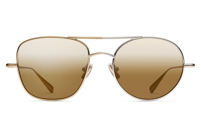 Monse x Morgenthal Frederics - Ginger Sunglasses Gold/Silver