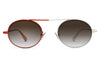 Monse x Morgenthal Frederics - Nina Sunglasses Red/Ivory