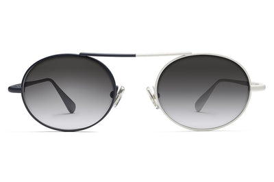 Monse x Morgenthal Frederics - Nina Sunglasses Navy/Ivory