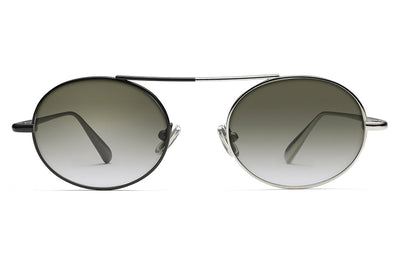 Monse x Morgenthal Frederics - Nina Sunglasses Black/Silver