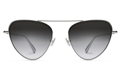 Monse x Morgenthal Frederics - Erica Sunglasses Silver