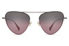 Monse x Morgenthal Frederics - Erica Sunglasses Rose Gold