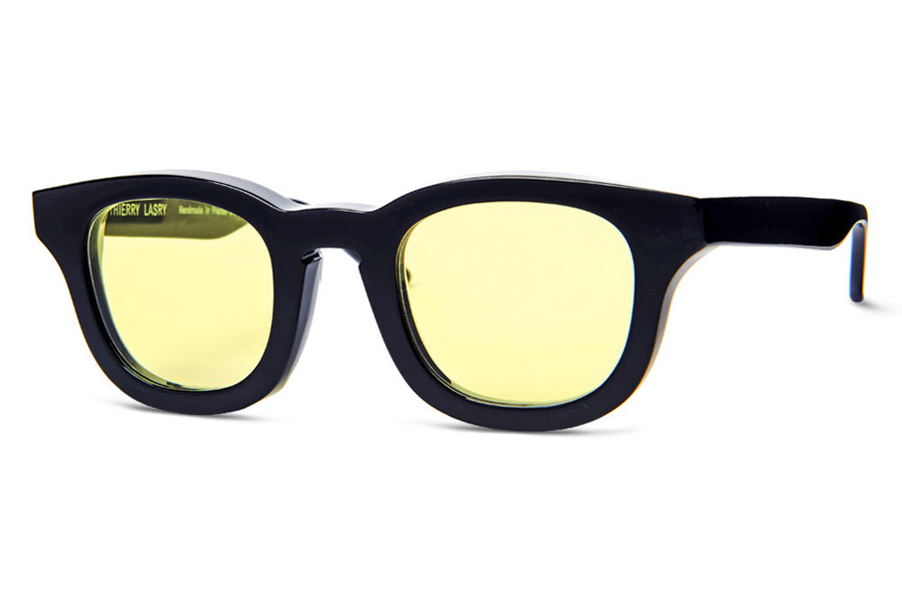 Thierry Lasry - Monopoly Sunglasses Black w/ Yellow Lenses (101)