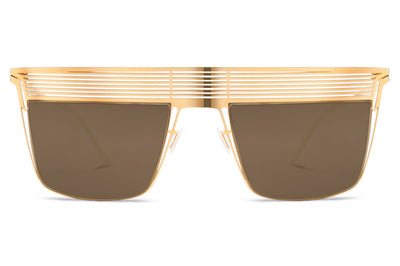 Lool Eyewear - Nox Sunglasses Gold