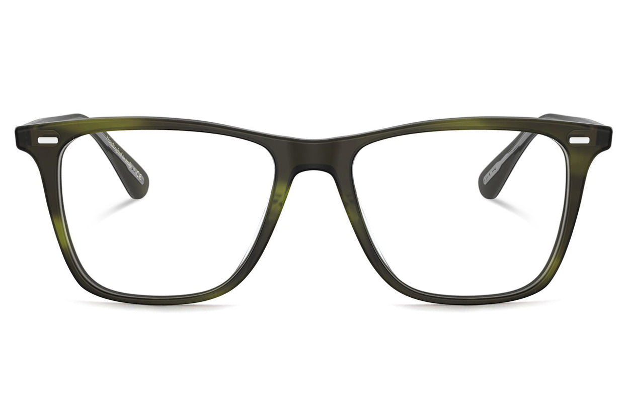 v Oliver Peoples - Ollis (OV5437U) Eyeglasses Semi-Matte Emerald Bark