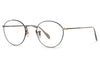 Oliver Peoples - Coleridge (OV1186) Eyeglasses Antique Gold-Black