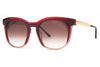 Thierry Lasry - Pearly Sunglasses Red, Burgundy & Light Brown (509)