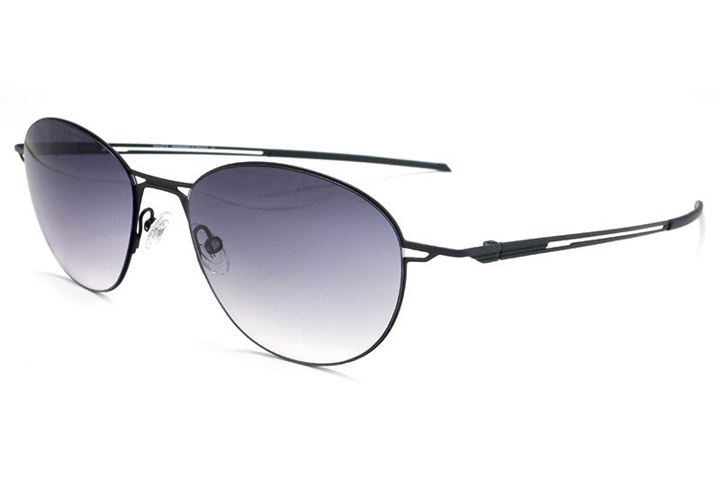 Parasite Eyewear - Racon 1 Sunglasses Black-Blue Chrome-Blue LED (C27L)