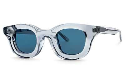 RHUDE x Thierry Lasry - Rhodeo Sunglasses Translucent Grey w/ Navy Blue Lenses (850)