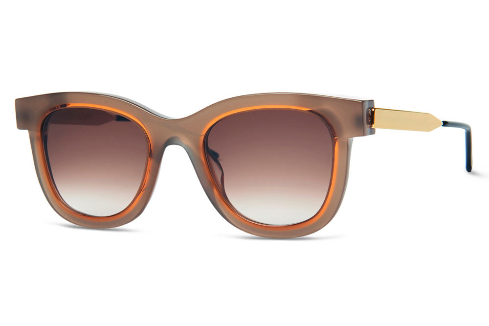 Thierry Lasry Sunglasses - Savvvy Light Brown & Orange (640)