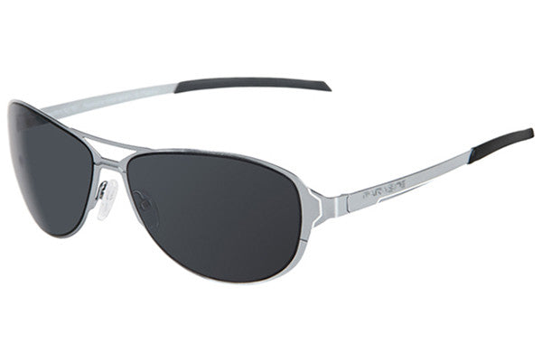 Parasite Eyewear - Scanner 1 Sunglasses Chrome-White-Grey Polarized Lens (C13P)