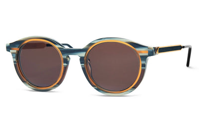 Thierry Lasry Sunglasses - Sneaky Turquoise Pattern & Brown (002)