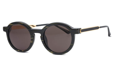 Thierry Lasry - Sobriety Sunglasses Vintage Green Stripe & Gold (918)