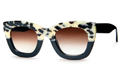 Thierry Lasry - Concubiny Sunglasses White Tortoise Shell & Black (258)