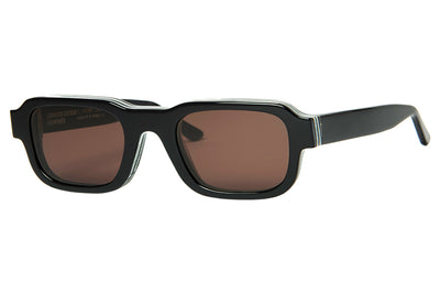 Enfants Riches Déprimés x Thierry Lasry - The Isolar 2 Sunglasses Black w/ Brown Lenses (101)