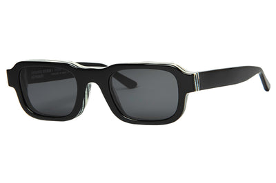 Enfants Riches Déprimés x Thierry Lasry - The Isolar 2 Sunglasses Black w/ Grey Lenses (101)