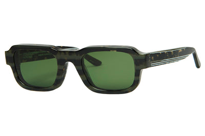 Enfants Riches Déprimés x Thierry Lasry - The Isolar 2 Sunglasses Tortoise Green w/ Green Lenses (CF1)