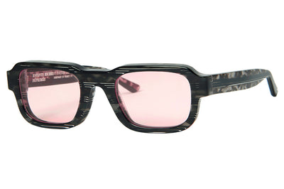 Enfants Riches Déprimés x Thierry Lasry - The Isolar 2 Sunglasses Grey Tortoise w/ Pink Lenses (CF4)