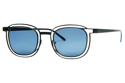 Thierry Lasry - Vigilanty Sunglasses Matte Black w/ Blue Lenses (700)