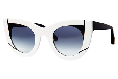 Thierry Lasry - Wavvvy Sunglasses White & Black (000)