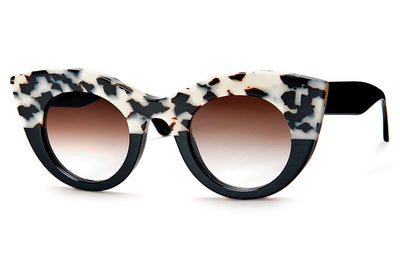 Thierry Lasry - Melancoly Sunglasses White Tortoise Shell & Black (258)