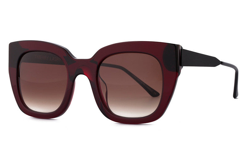 Thierry Lasry - Swingy Sunglasses Pink & Matte Brown (1654)